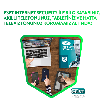ESET Internet ve Mobile Securıty Kampanyası